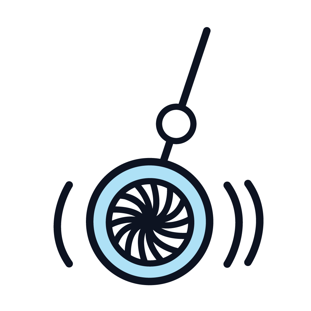 This is an icon representing hypnosis.