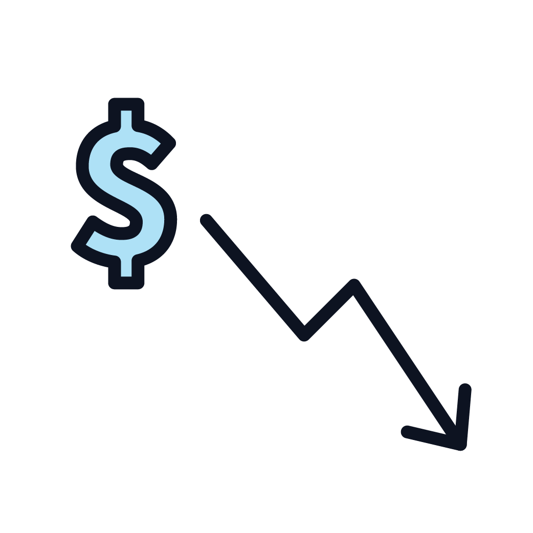 This is an image representing lost earnings.
