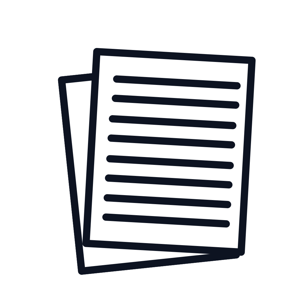 This is an icon representing evidence to asbetos exposure, which allows to file a claim.
