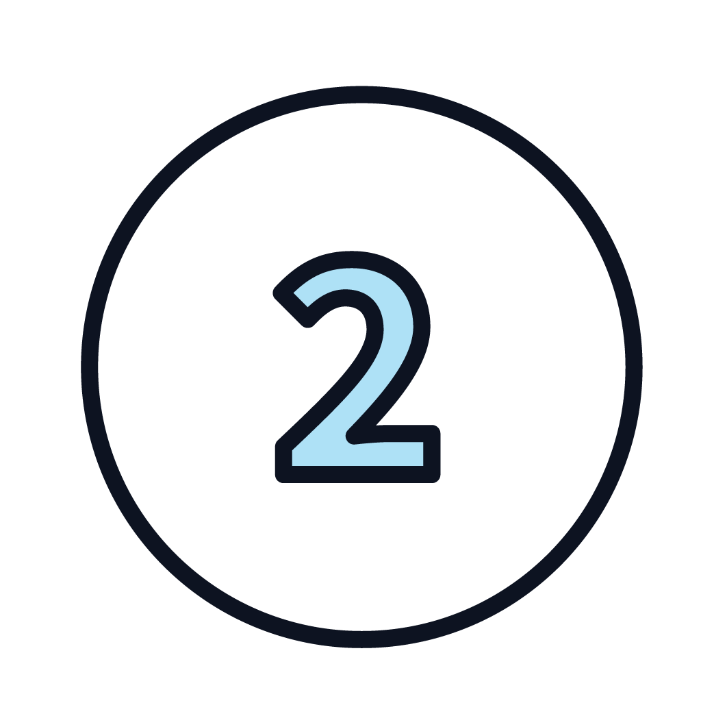 This is an icon of the number 2.