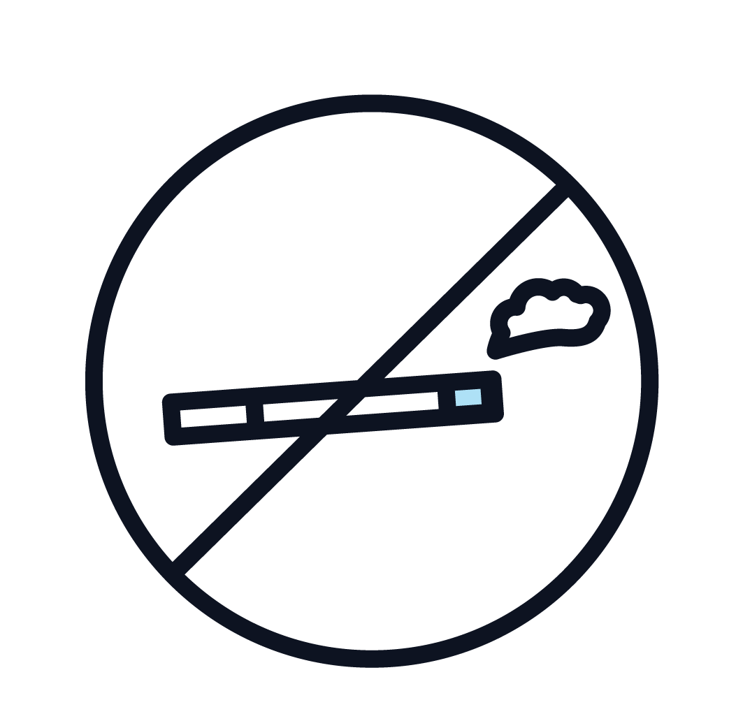This is an image representing no smoking.